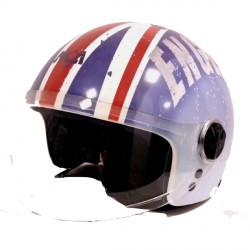 Casque NCA J300VSB UK Flag by Grex