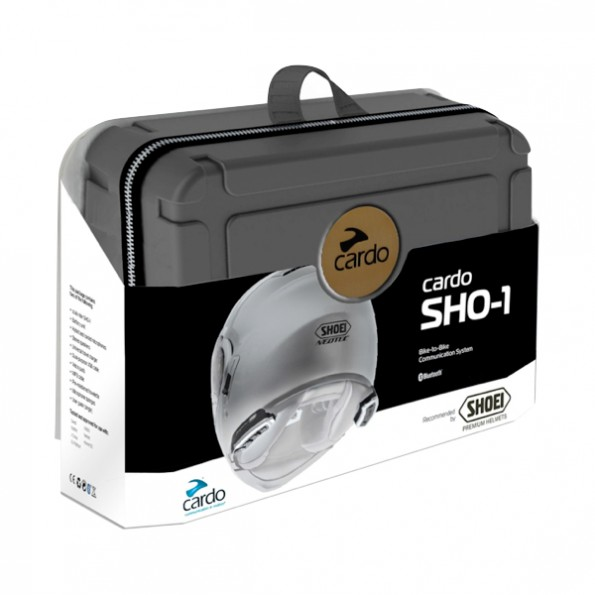 Kit Bluetooth Cardo SHO-1 pour casque Shoei Neotec et GT-Air
