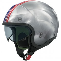 Casque Nolan N21 Banner Scratched Chrome