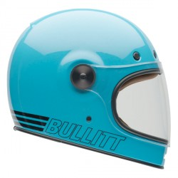 Casque Bell Bullitt Retro Blue