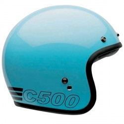Casque Bell Custom 500 Retro Blue