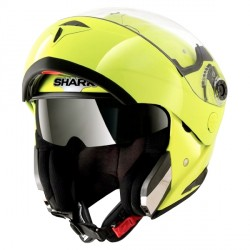 Casque Shark Openline Hi Visibility