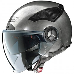 Casque Nolan N33 Evo Classic Scratched Chrome