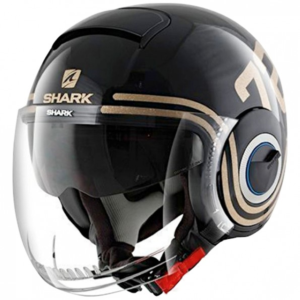 casque shark nano 72 centrale du casque. Black Bedroom Furniture Sets. Home Design Ideas