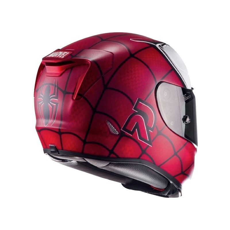 casque hjc rpha11 spider man casque marvel centrale du casque. Black Bedroom Furniture Sets. Home Design Ideas
