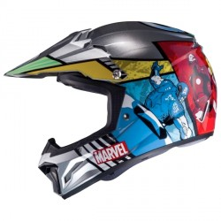 Casque Cross Enfant HJC CL-XY II Marvel Avengers