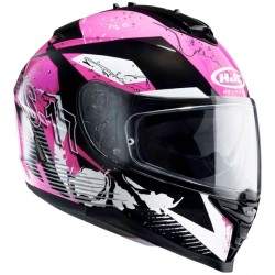 Casque HJC IS-17 Pink Rocket
