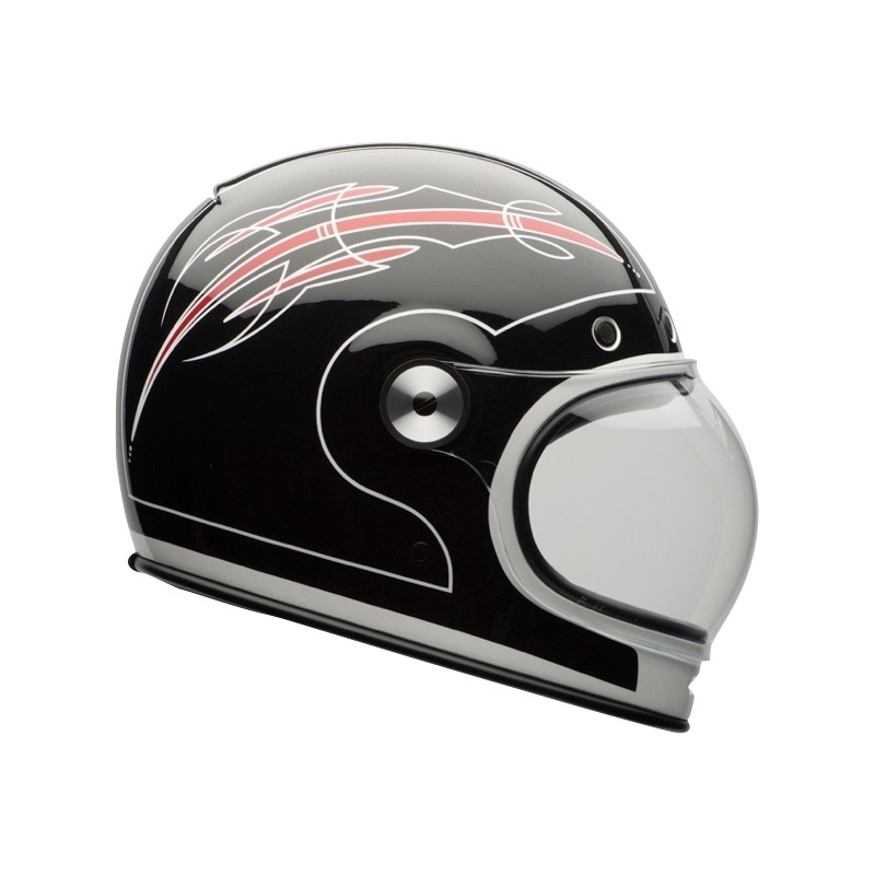 casque bell bullitt skratch black red la centrale du casque. Black Bedroom Furniture Sets. Home Design Ideas