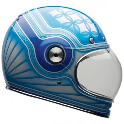 Casque Bell Bullitt Chemical Candy Blue