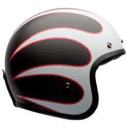 Casque Bell Custom 500 Carbon Ace Cafe Ton Up