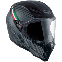 Casque AGV AX-8 Naked Carbon Black Forest