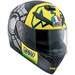 Casque AGV K-3 SV Winter Test 2012