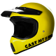 Casque cross Cast MTII 05R - Jaune