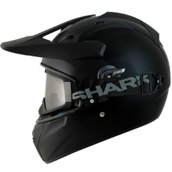 Casque Cross Shark Explore-R Noir Mat