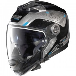 Casque Nolan N44 Evo Viewpoint N-Com Scratched