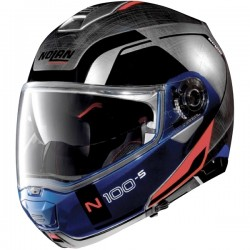 CasqueModulable  Nolan N100-5 Consistency N-Com Chrome
