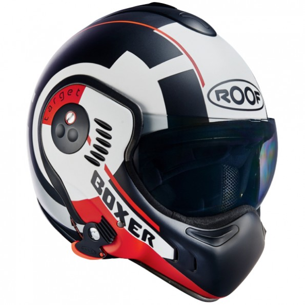 Casque moto modulable roof