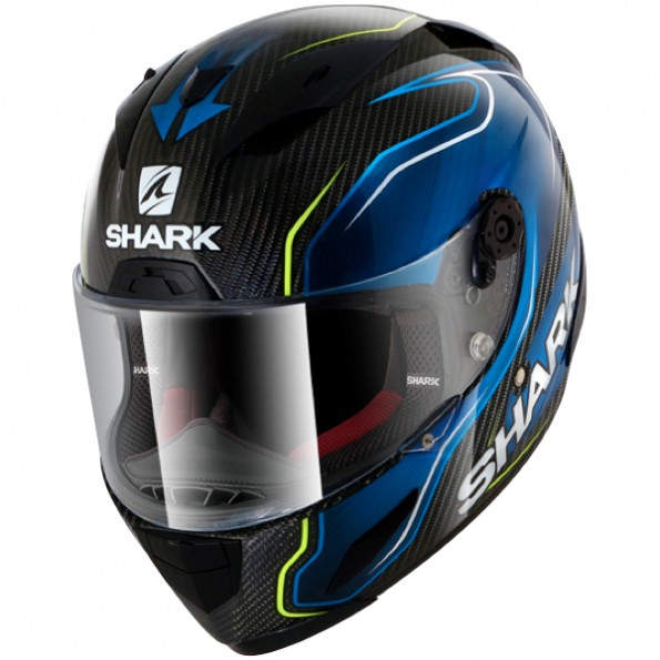 casque shark race r pro carbon replica guintoli centrale du casque. Black Bedroom Furniture Sets. Home Design Ideas