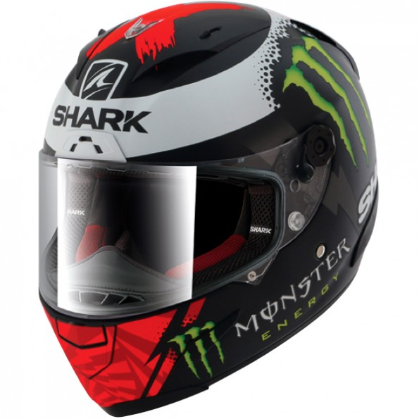 Casque Intégral de moto Shark Race-R Pro Lorenzo Monster Mat 2017