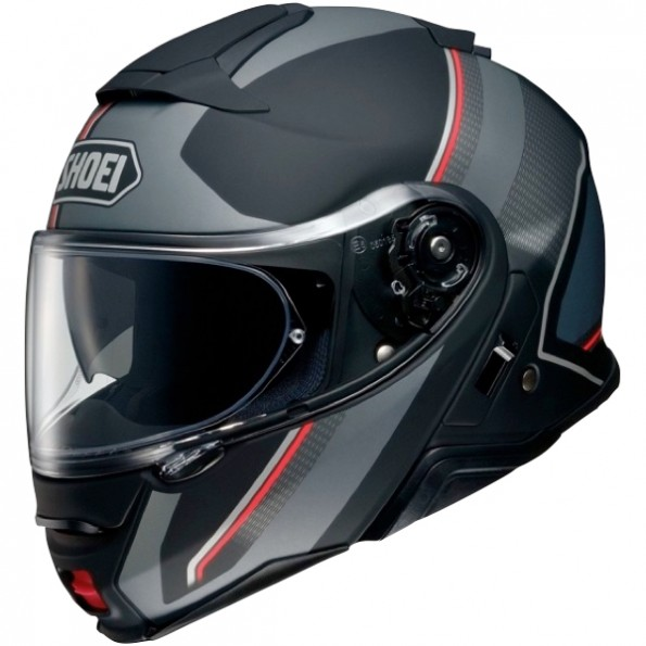 Casque Modulable Shoei Neotec 2 Excursion TC-5 Noir Mat