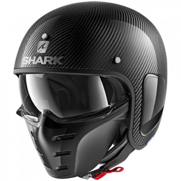 Casque Jet Shark S-Drak Carbon Skin
