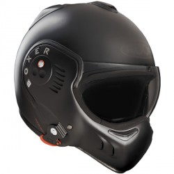Casque Roof Boxer V8 Full Black 24h