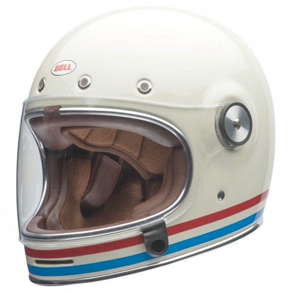 Casque Bell Bullitt Stripes Pearl