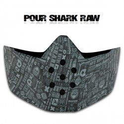 Shark Mask Raw/Drak All Over