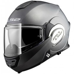 Casque Modulable LS2 Valiant Gris Mat