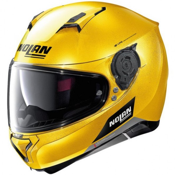 Casque Nolan N87 Emblema Spark Yellow