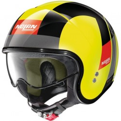 Casque Demi-Jet Nolan N21 Spheroid Led Jaune