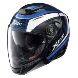 Casque Transformable X-lite X-403 GT Ultra Carbon Meridian Bleu