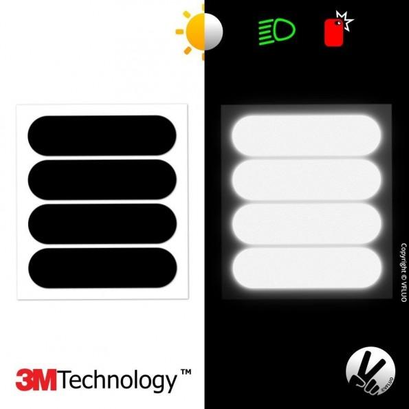 Stickers Réfléchissant Noir Standard