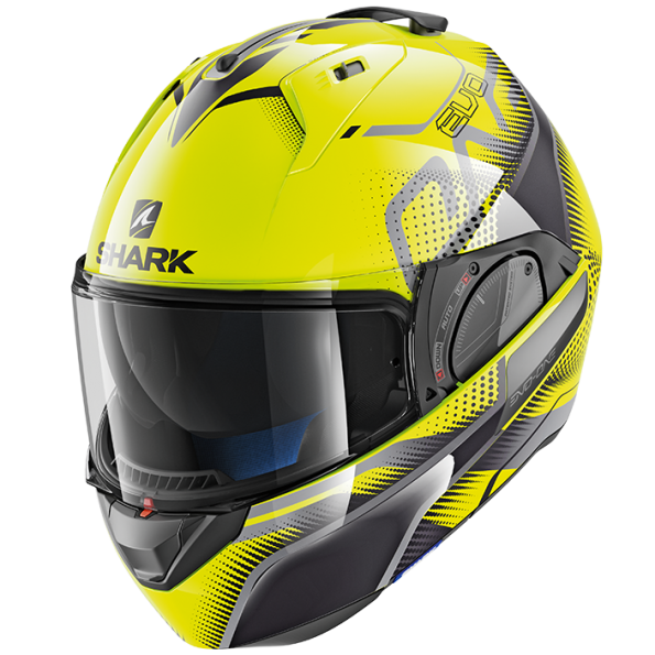 Casque Modulable Shark Evo-One 2 Keenser Jaune