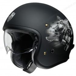 Casque Jet Shoei J.O Johnny Hallyday