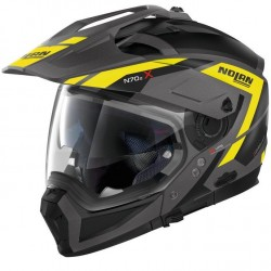 Casque Transformable Nolan N70.2 X Alpes N-Com Mat