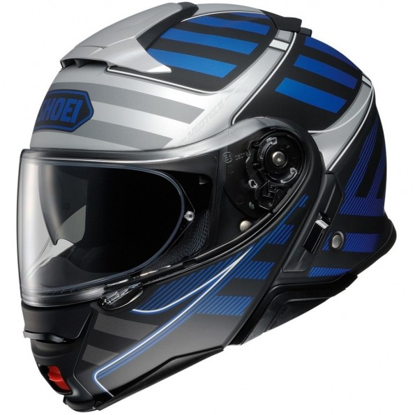 Casque Modulable Shoei Neotec 2 Splicer TC-2 Bleu