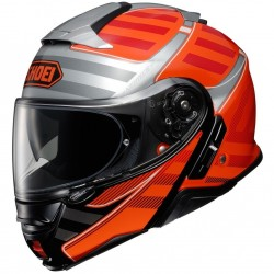 Casque Modulable Shoei Neotec 2 Splicer TC-8 Orange