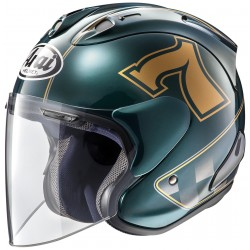 Casque Arai SZ-Ram X Cafe Racer Green