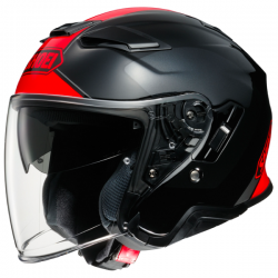 Casque Jet Shoei J-Cruise 2 Adagio TC-1 Rouge
