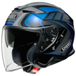 Casque Jet Shoei J-Cruise 2 Aglero TC-2 Bleu