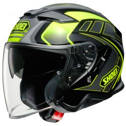 Casque Jet Shoei J-Cruise 2 Aglero TC-3 Jaune