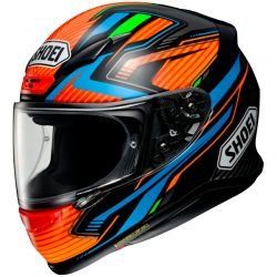 Casque Intégral  Shoei NXR Stab TC-8 Orange