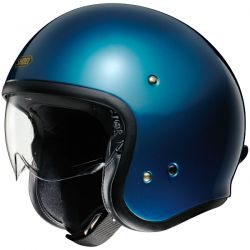 Casque Jet Shoei J.O Laguna Blue