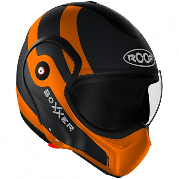 Casque Modulable Roof Boxxer Fuzo Orange Mat