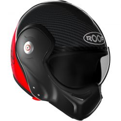 Casque Modulable Roof Boxxer Carbon Rouge