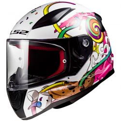 Casque Moto Enfant LS2 Rapid Mini Crazy Pop