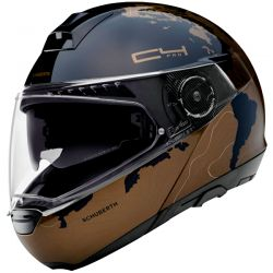 Casque Modulable Schuberth C4 Pro Magnitudo Marron