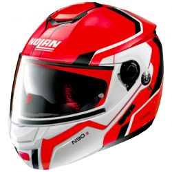 Casque Modulable Nolan N90-2 Meridianus Rouge