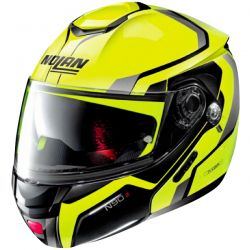 Casque Modulable Nolan N90-2 Meridianus Led Jaune